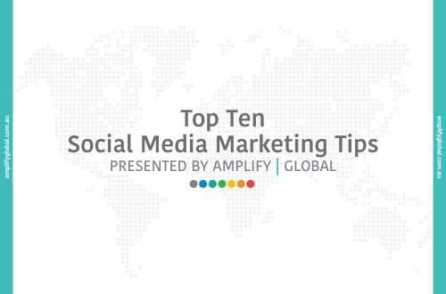 Top Ten Social Media Marketing Tips